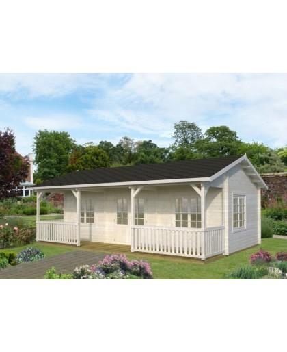 Maison de loisir en bois 37 m²