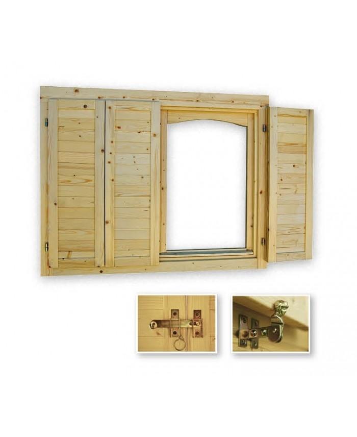 Volets pour fenêtre simple 28/34 mm