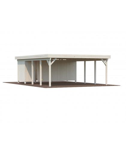 "Annexe pour carport ""Karl 40,6 m²"""