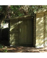 Annexe pour abri :  3,1 m²