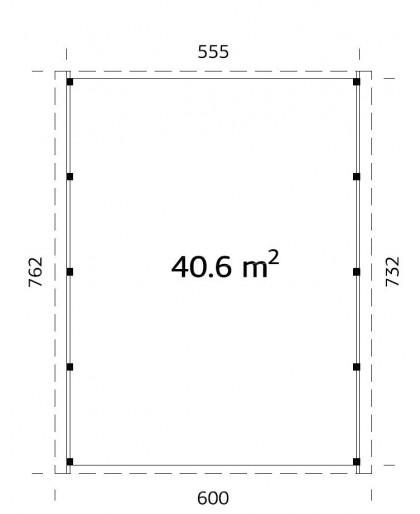 "Carpot ""Karl"" 40,6m²"