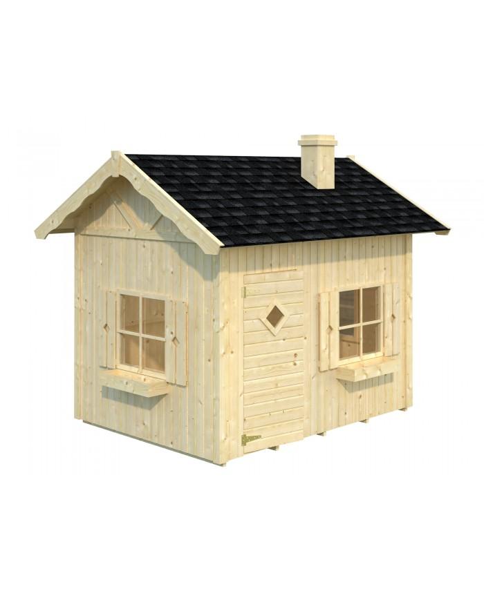maison en bois pour enfant. Black Bedroom Furniture Sets. Home Design Ideas